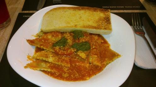 Spinach and Feta Ravioli