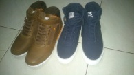 From left to right: Boxfresh's Dark Brown Zest and Indigo Azule