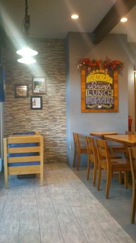 Interior of Cafe Shibuya