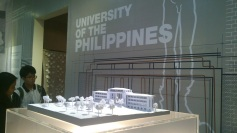 Scale model of the University of the Philippines Main Building
