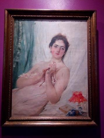 Portrait of a Lady (a.k.a Mi Novia or Portrait of Paz Pardo de Tavera) by Juan Luna