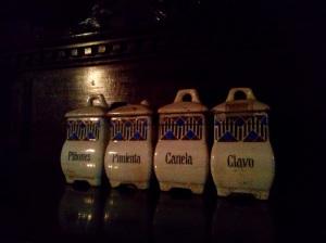 The condimentos
