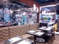DC Super Heroes Café interior